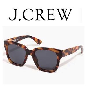 J Crew Tortoise Sunglasses NWT